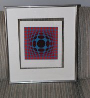 Ives 1970 Limited Edition Print by Victor Vasarely - 2