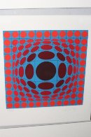 Ives 1970 Limited Edition Print by Victor Vasarely - 5