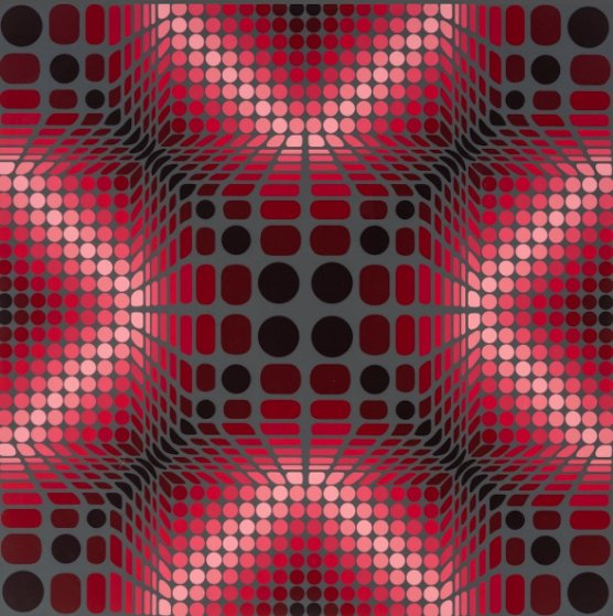 Boulouss 1984 Limited Edition Print by Victor Vasarely