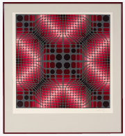 Boulouss 1984 Limited Edition Print by Victor Vasarely - 1