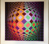 Untitled Lithograph  Limited Edition Print by Victor Vasarely - 2