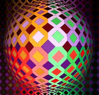 Untitled Lithograph  Limited Edition Print by Victor Vasarely - 0