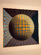 Untitled Serigraph  Limited Edition Print by Victor Vasarely - 2