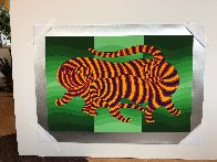 Tigers 1983 Limited Edition Print by Victor Vasarely - 1