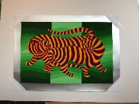 Tigers 1983 Limited Edition Print by Victor Vasarely - 6