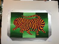Tigers 1983 Limited Edition Print by Victor Vasarely - 10