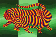 Tigers 1983 Limited Edition Print by Victor Vasarely - 0