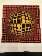 Untitled Lithograph Limited Edition Print by Victor Vasarely - 1