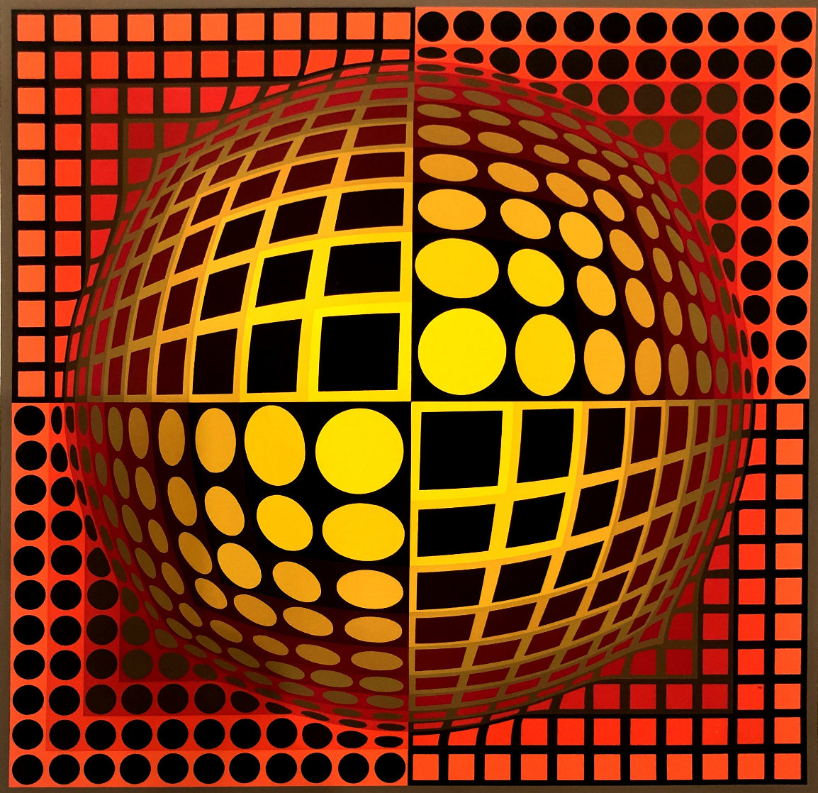 Domo Limited Edition Print by Victor Vasarely