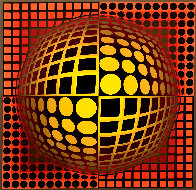 Domo Limited Edition Print by Victor Vasarely - 0
