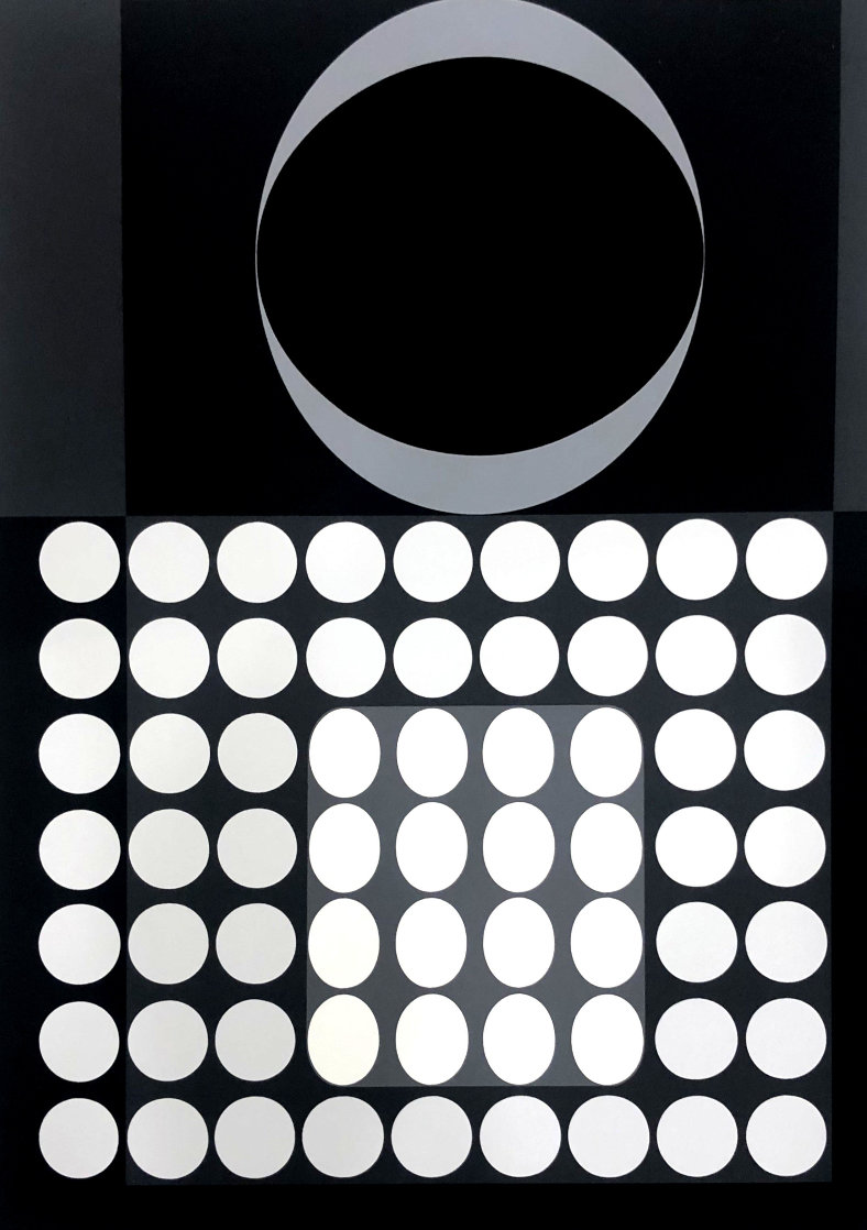 Laika Limited Edition Print by Victor Vasarely