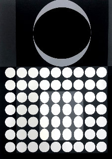 Untitled Lithograph  Limited Edition Print by Victor Vasarely
