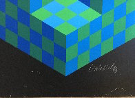 Hexa 5 EA 1988 Limited Edition Print by Victor Vasarely - 8