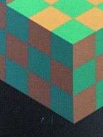 Hexa 5 EA 1988 Limited Edition Print by Victor Vasarely - 7