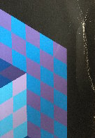 Hexa 5 EA 1988 Limited Edition Print by Victor Vasarely - 3