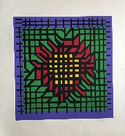 Katzag 1998 Limited Edition Print by Victor Vasarely - 1