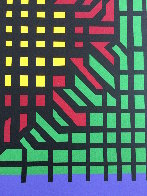 Katzag 1998 Limited Edition Print by Victor Vasarely - 2