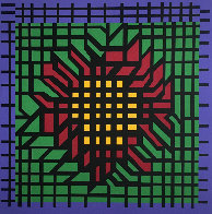 Katzag 1998 Limited Edition Print by Victor Vasarely - 0