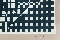 Black and White 1991 Limited Edition Print by Victor Vasarely - 3
