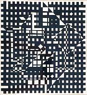 Black and White 1991 Limited Edition Print by Victor Vasarely - 0
