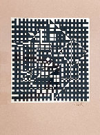 Black and White 1991 Limited Edition Print by Victor Vasarely - 2