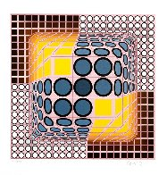Vega Blue Limited Edition Print by Victor Vasarely - 0