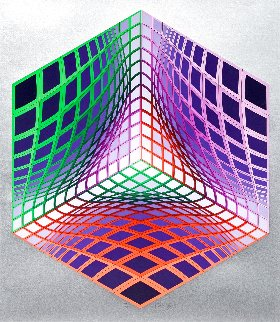 Test Tarka 1992 Limited Edition Print - Victor Vasarely