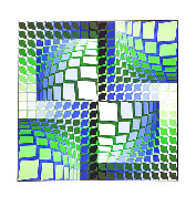 Thez 1982 Limited Edition Print by Victor Vasarely - 1