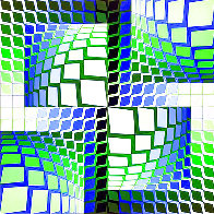 Thez 1982 Limited Edition Print by Victor Vasarely - 0