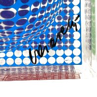 Oltar Zoelo Acrylic Glass Sculpture 1970 7 in Sculpture by Victor Vasarely - 3