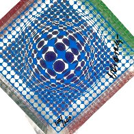 Oltar Zoelo Acrylic Glass Sculpture 1970 7 in Sculpture by Victor Vasarely - 2