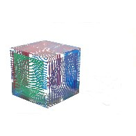 Oltar Zoelo II  Acrylic Glass Sculpture 1970 7 in Sculpture by Victor Vasarely - 2