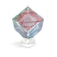 Oltar Zoelo II  Acrylic Glass Sculpture 1970 7 in Sculpture by Victor Vasarely - 3