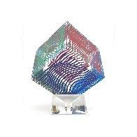 Oltar Zoelo II  Acrylic Glass Sculpture 1970 7 in Sculpture by Victor Vasarely - 4