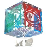 Oltar Zoelo II  Acrylic Glass Sculpture 1970 7 in Sculpture by Victor Vasarely - 5