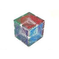 Oltar Zoelo II  Acrylic Glass Sculpture 1970 7 in Sculpture by Victor Vasarely - 6