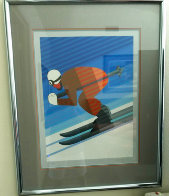 Downhill Skier 1984 Limited Edition Print by Victor Vasarely - 3