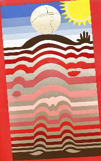 Sunbather PP 1982 Limited Edition Print - Victor Vasarely
