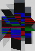 Attika 1990 Limited Edition Print by Victor Vasarely - 0