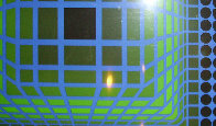 Untitled Lithograph 1980 Limited Edition Print by Victor Vasarely - 3