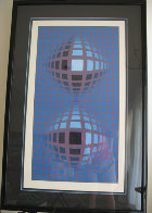 Untitled Serigraph 1974 Limited Edition Print by Victor Vasarely - 1
