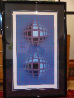 Untitled Serigraph 1974 Limited Edition Print by Victor Vasarely - 3