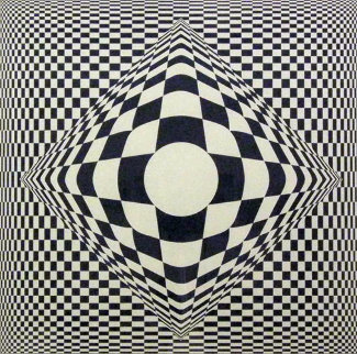 Vertigo Limited Edition Print - Victor Vasarely