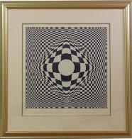 Vertigo Limited Edition Print by Victor Vasarely - 1