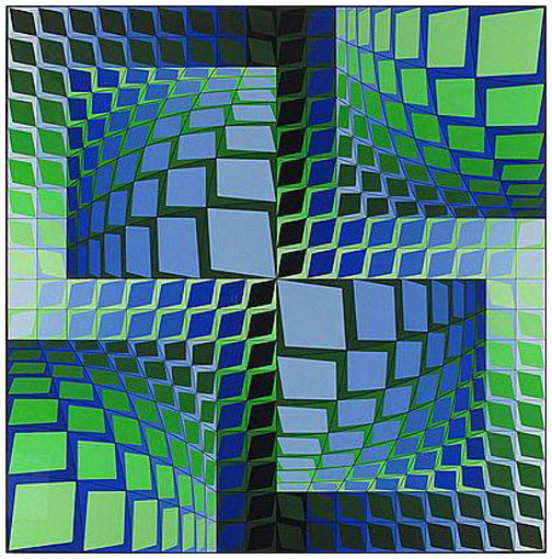 Thez 1982 Limited Edition Print by Victor Vasarely