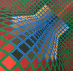 Verchte 1979 Limited Edition Print - Victor Vasarely