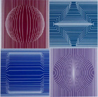 Tokyo 1982 Limited Edition Print by Victor Vasarely - 0