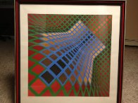 Verchte 1979 Limited Edition Print by Victor Vasarely - 1
