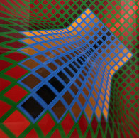 Verchte 1979 Limited Edition Print by Victor Vasarely - 0