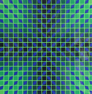 Jindey Limited Edition Print - Victor Vasarely